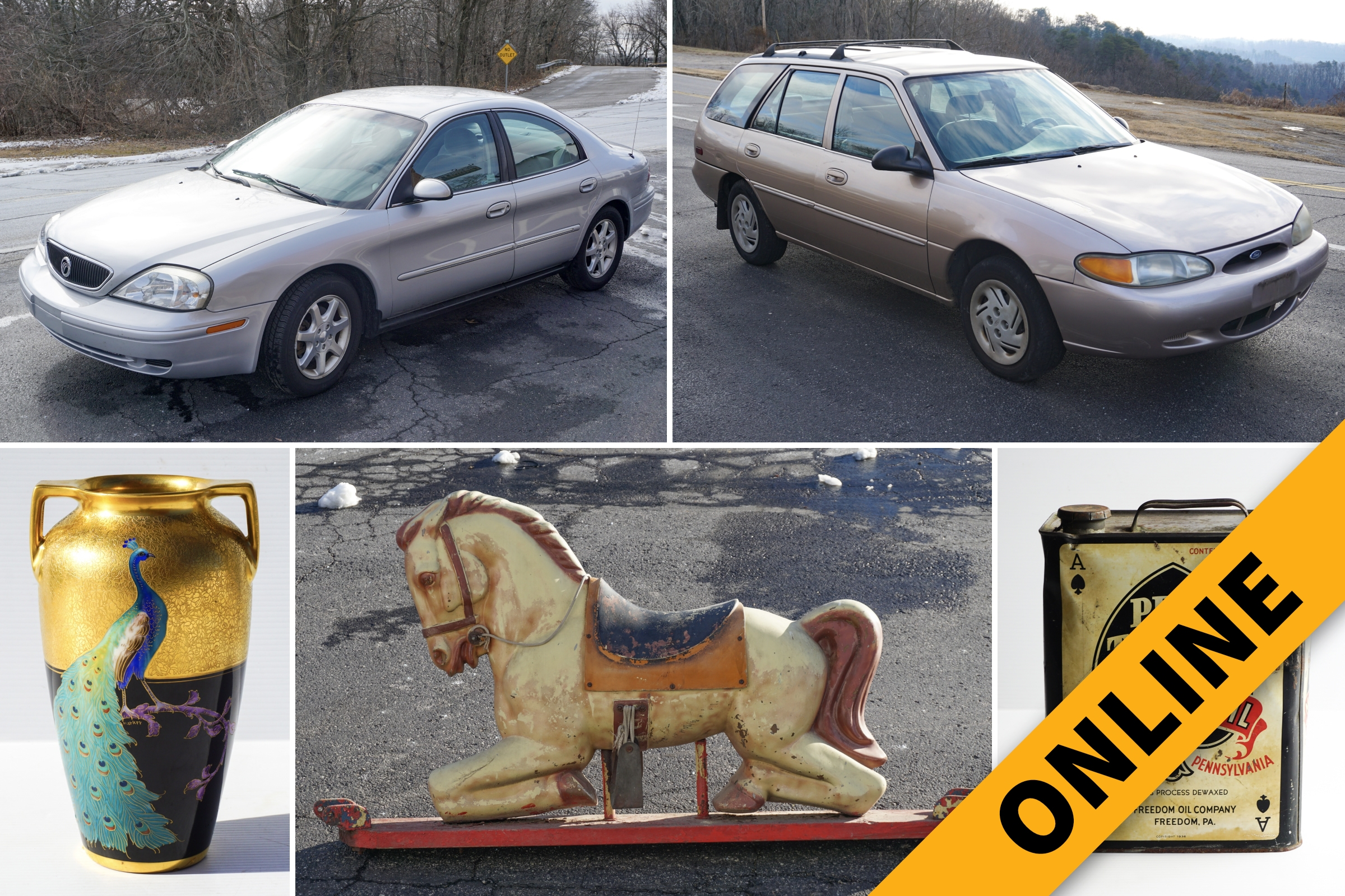 Online Vehicle, Retro & Vintage Auction