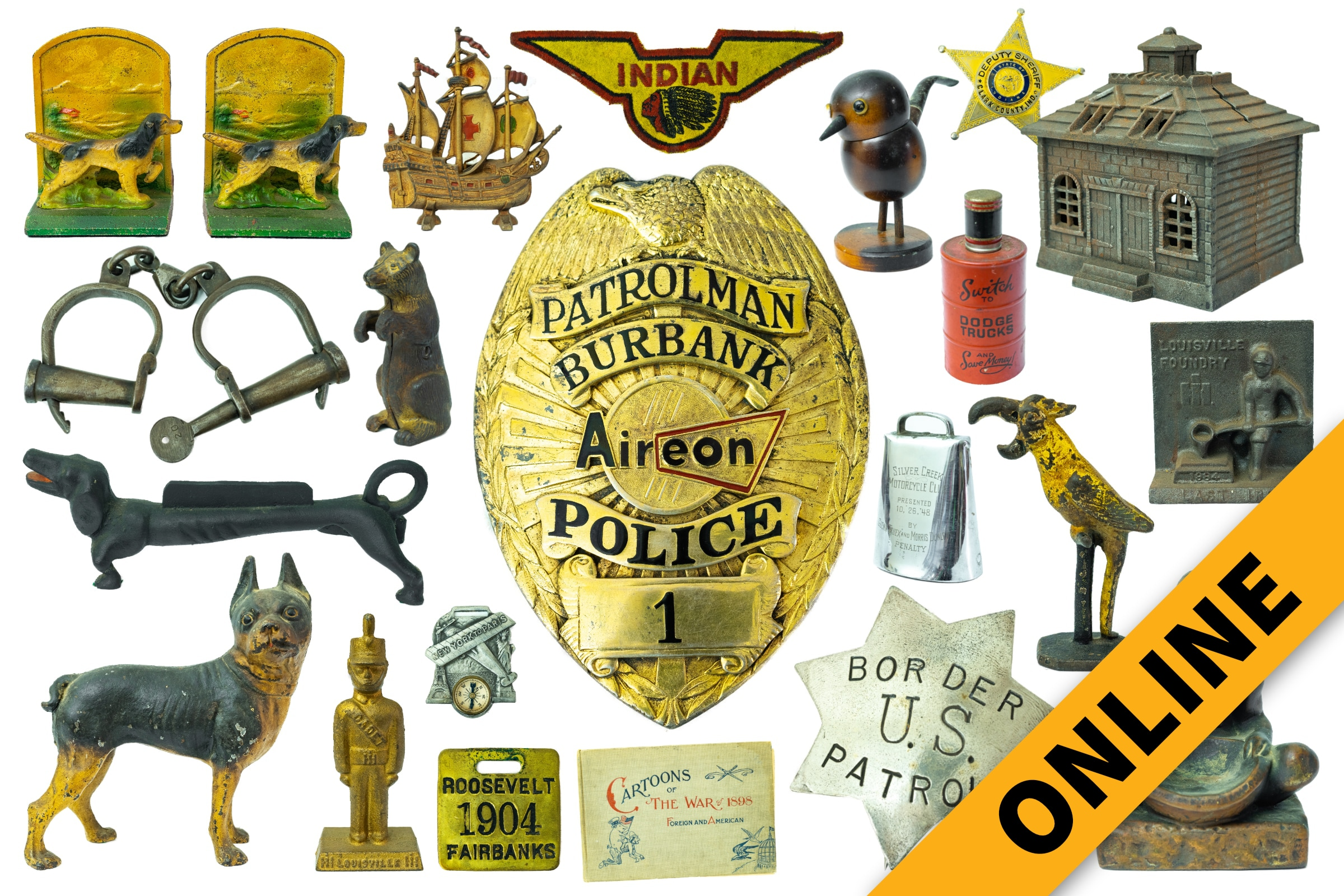 Landgraf Online Memorabilia & Furniture Auction