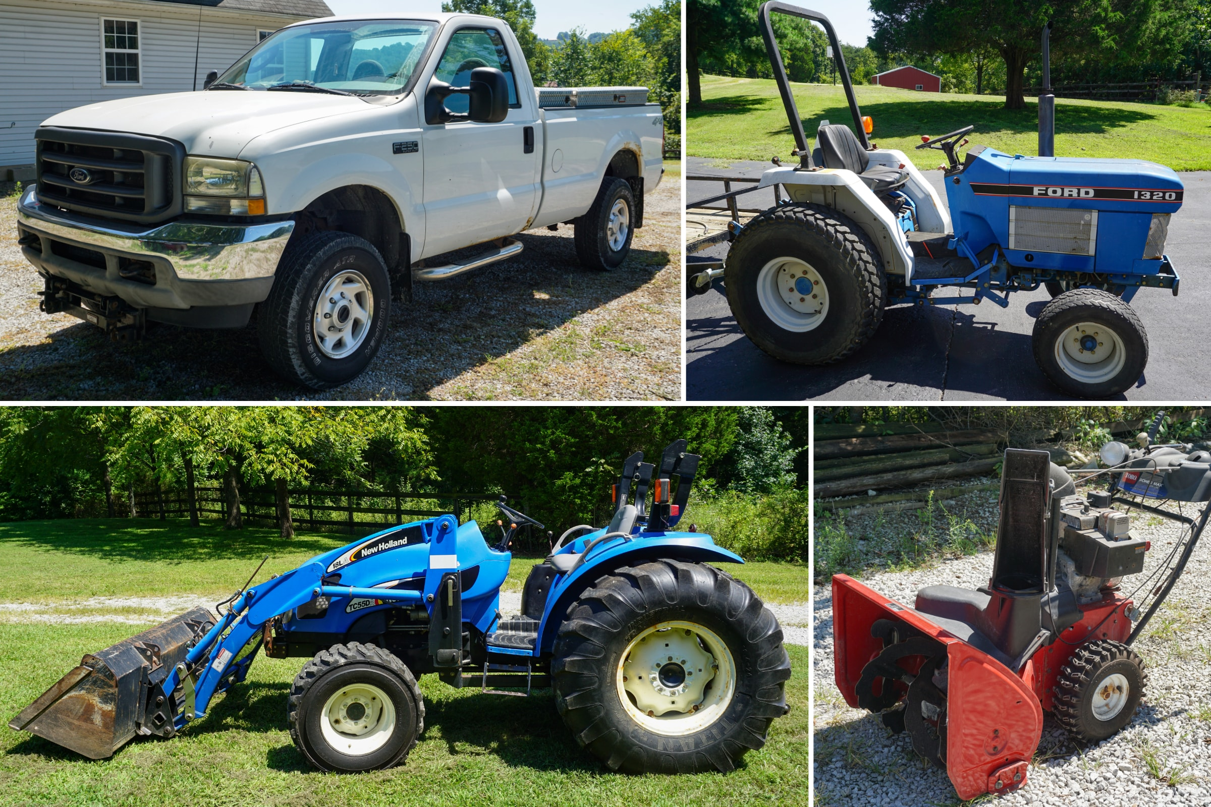 Tractors, Vehicle & Furniture Auction