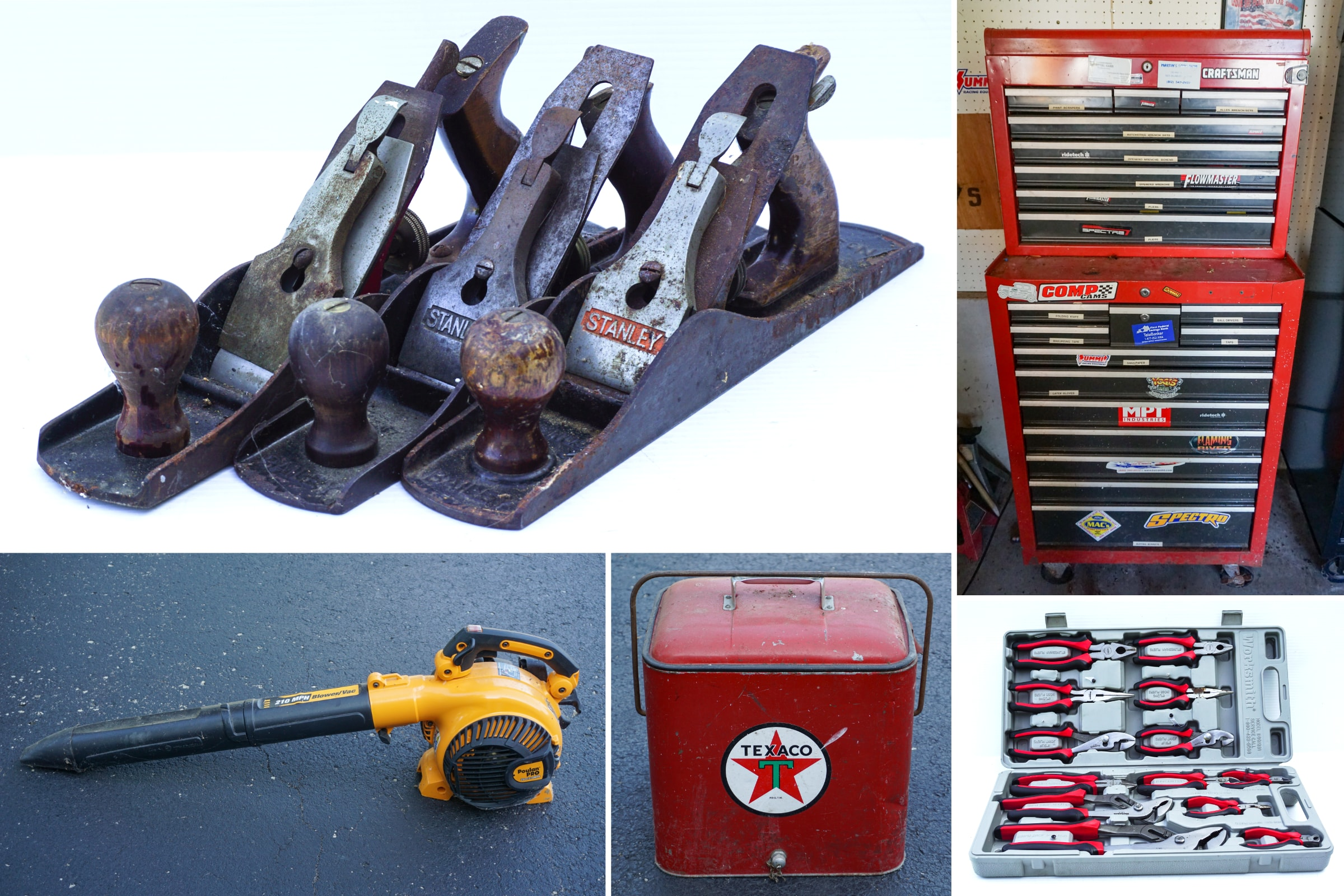 Woodworking Tools & Equipment Auction