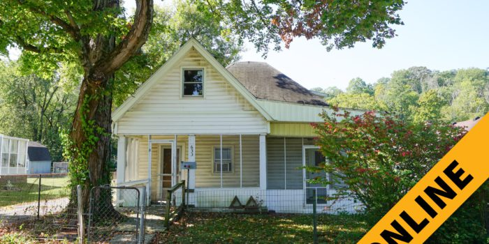 New Albany Cottage Online Auction