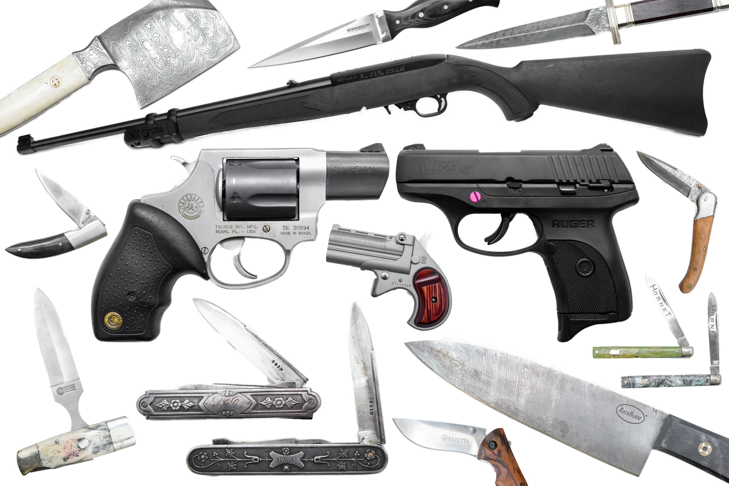 Firearm & Knife Collection Auction