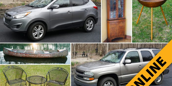 Floyds Knobs Home Furnishings, Decor & Vehicles Online Auction
