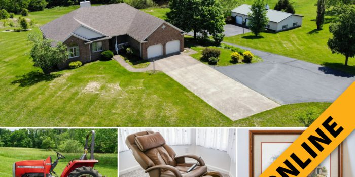 8 Acre Lanesville Home & Contents Online Auction