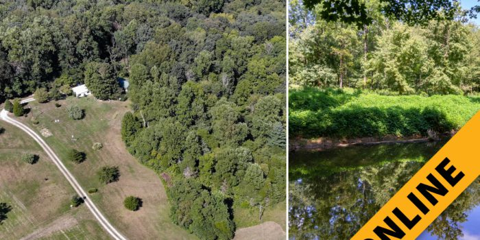 5 Acre Little Blue River Camp Online Auction
