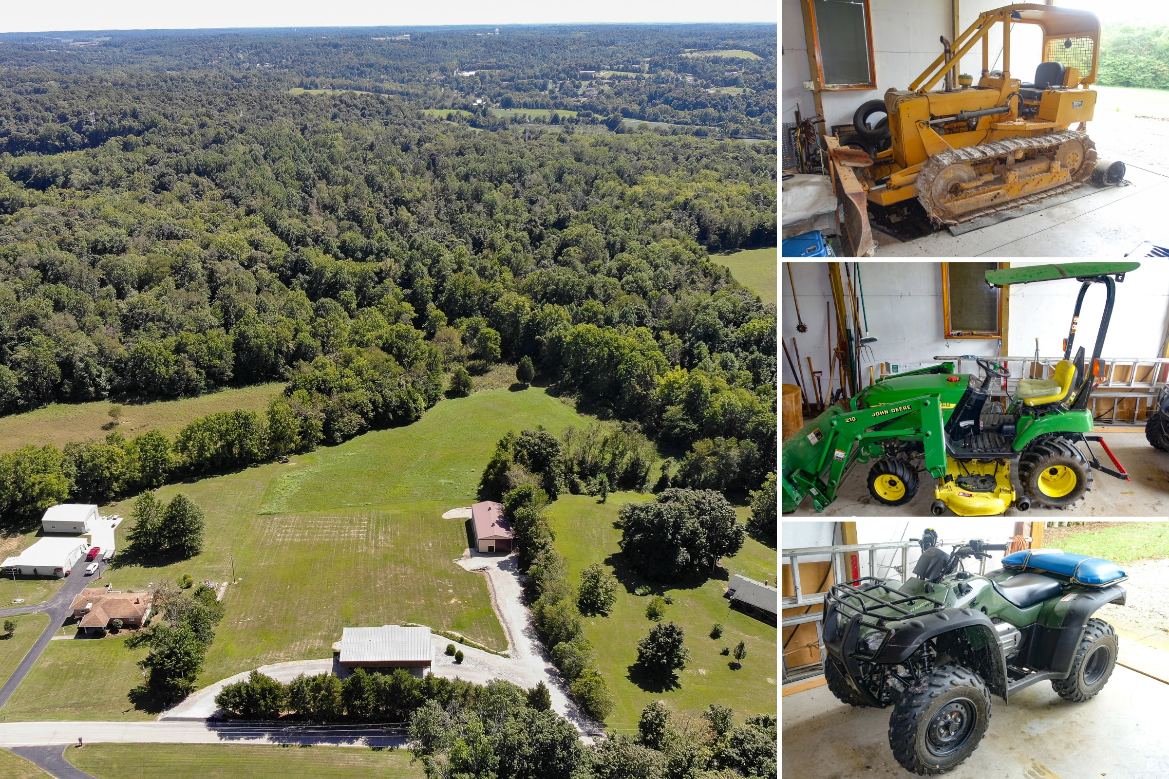 43 Acres, Home, Barn & Contents Auction