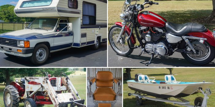 Vehicles, Equipment & Antique Auction