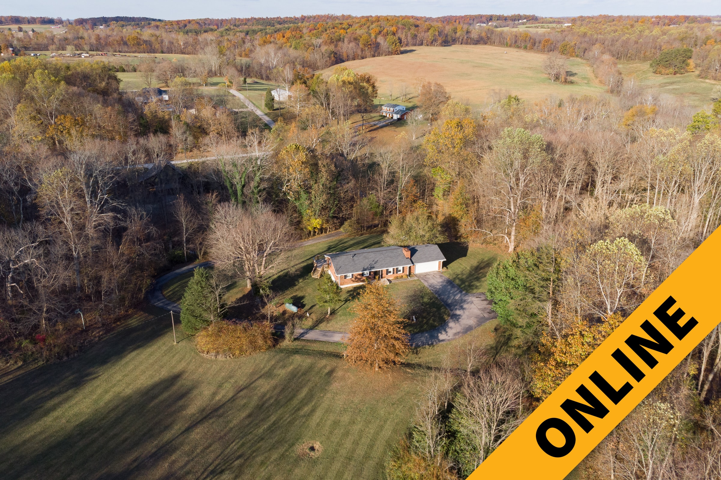 3.4 Acre Floyd County Home Online Auction