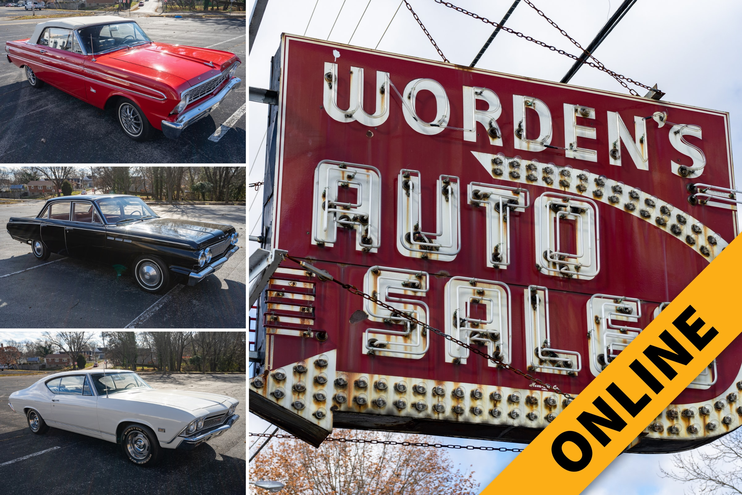 Worden Collector Car & Neon Sign Auction