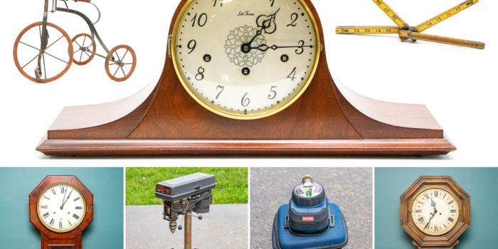 Myers Antique Clocks, Collectibles & Tools Auction