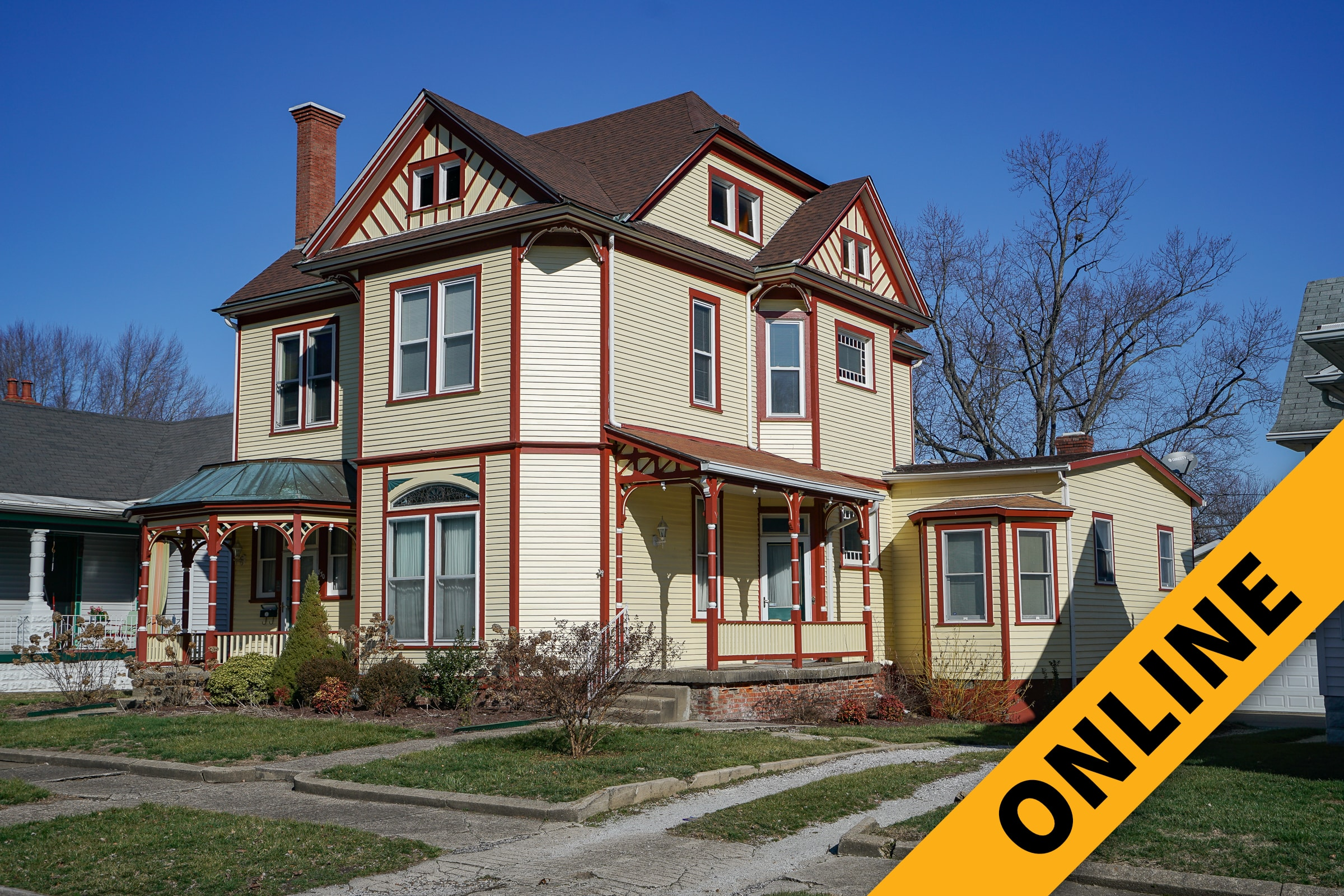 Historic Cedar Bough Place Online Auction