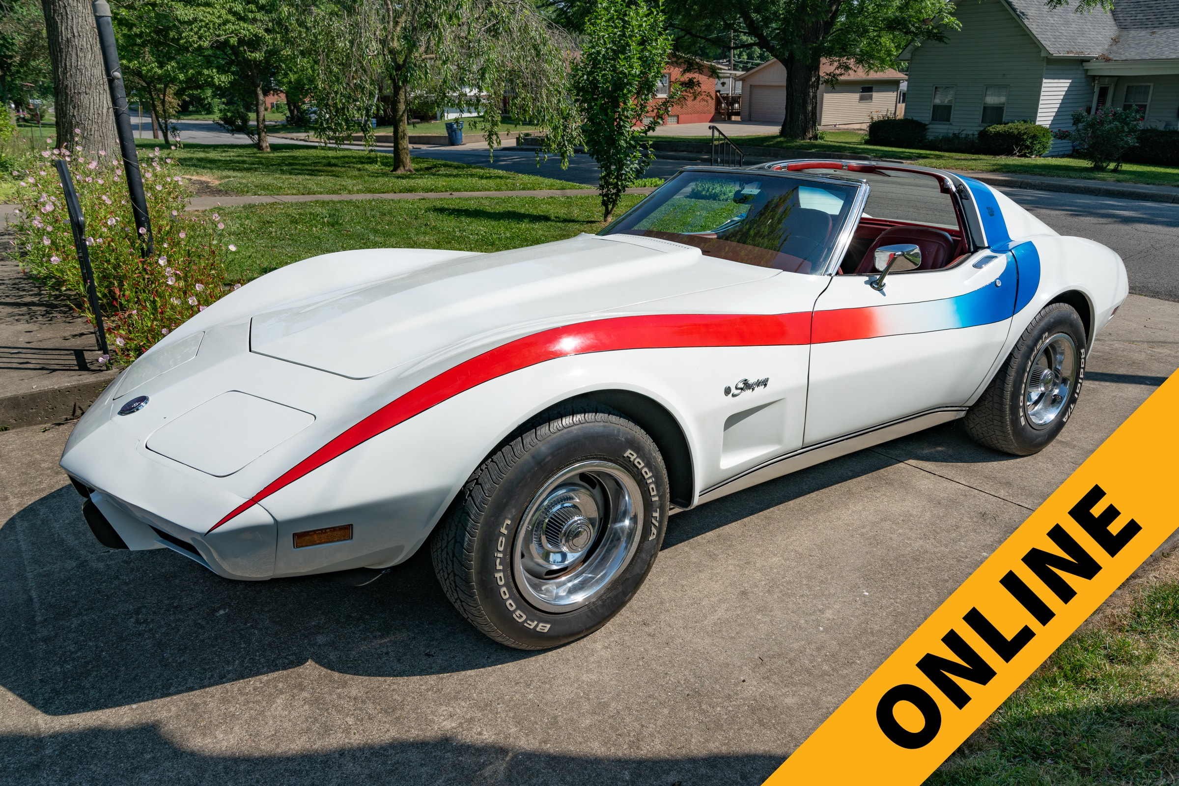 1976 Chevrolet Corvette Online Auction