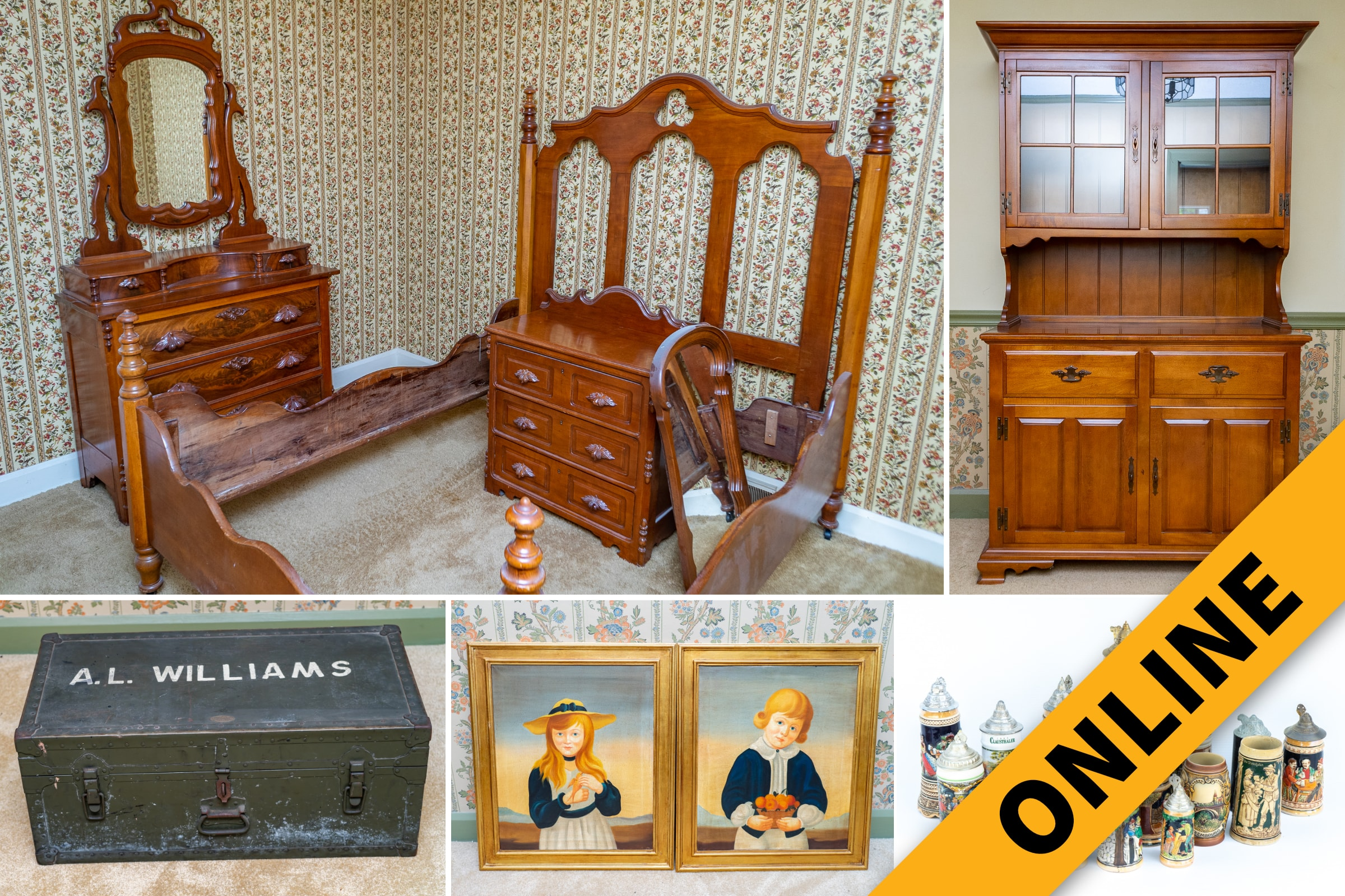 Furniture Antique Online Auction Harritt Group Inc