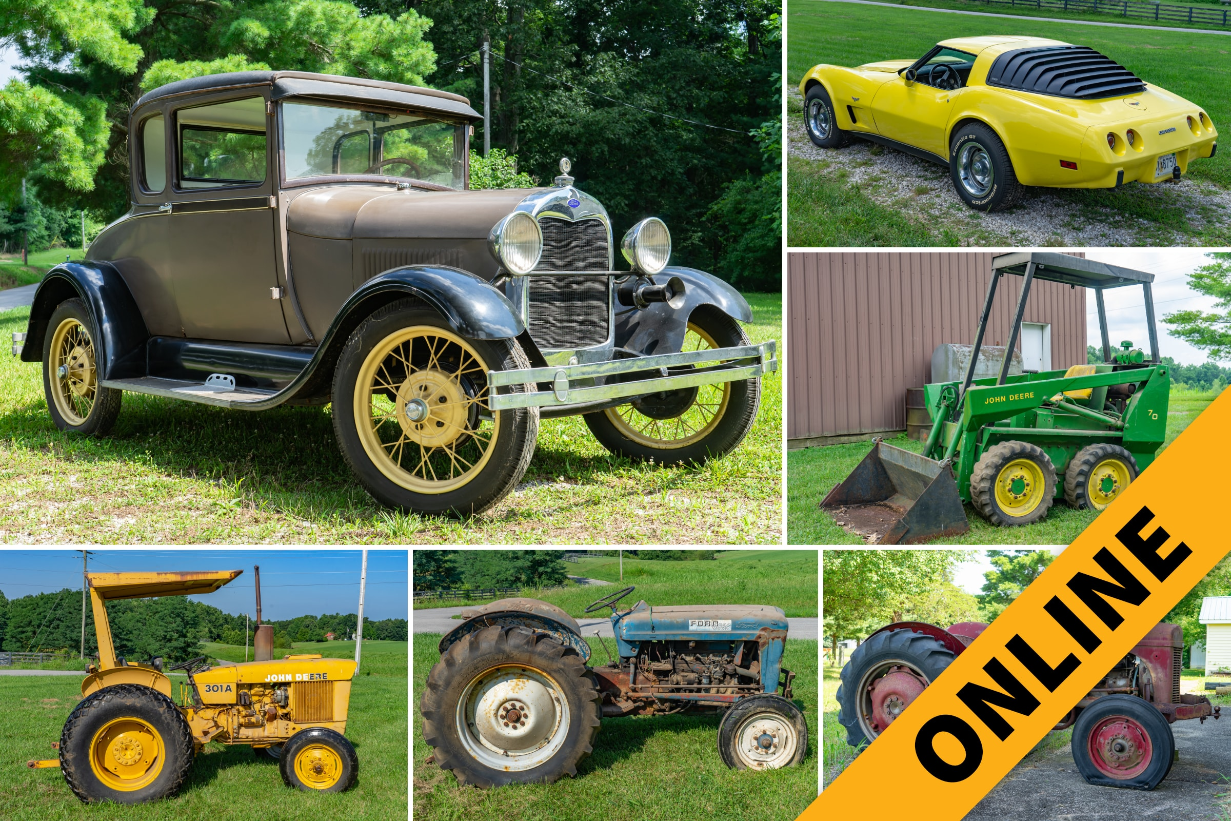 Vehicles, Tractors & Industrial Online Auction