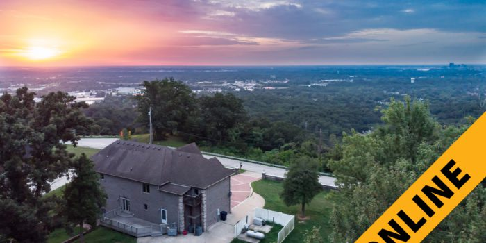 Panoramic City View Home Online Auction