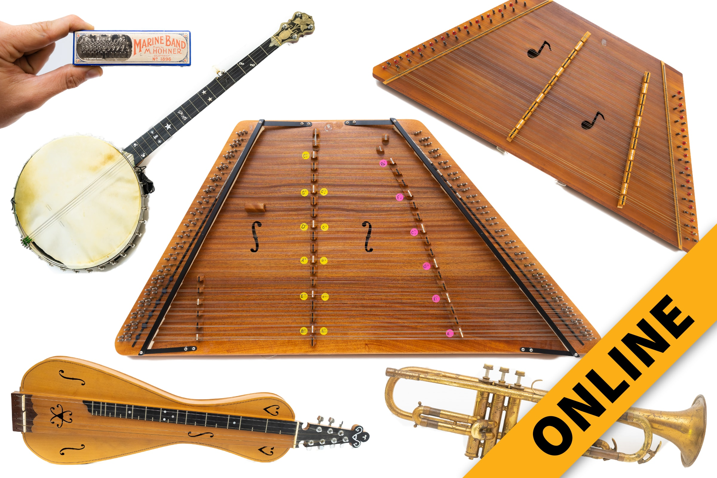 Vintage Musical Instrument Online Auction