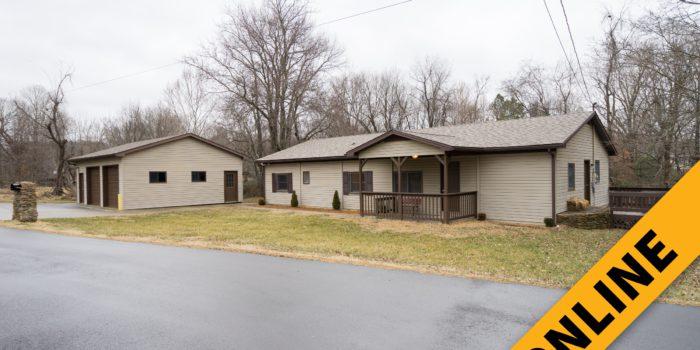 Ranch Home & Garage Online Auction