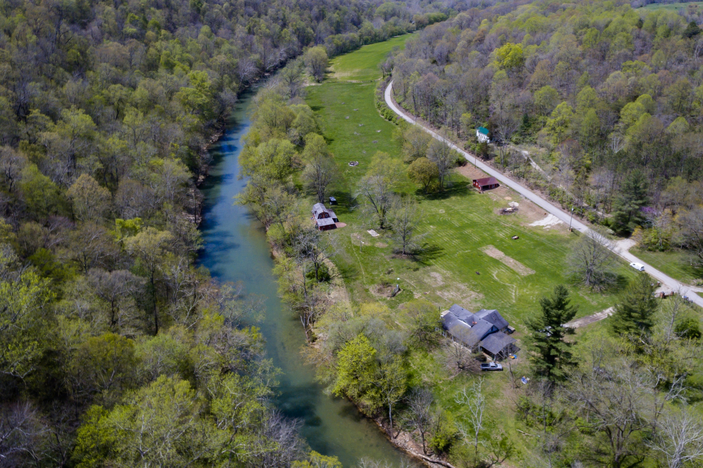 Riverfront Home On 12.5 Acres & Contents Auction