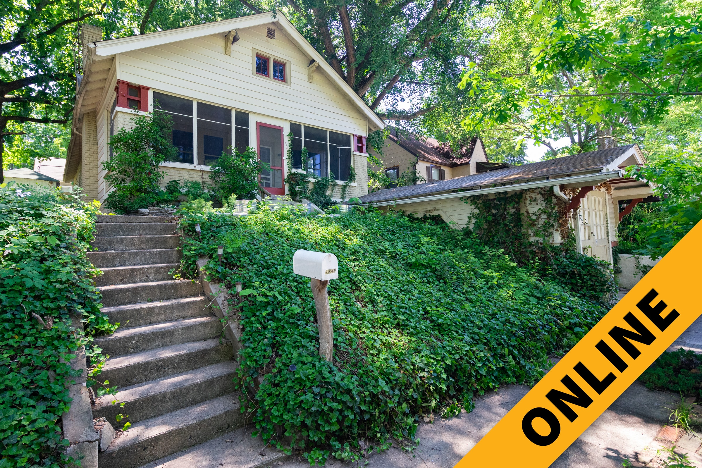 Craftsman Style Home Online Auction