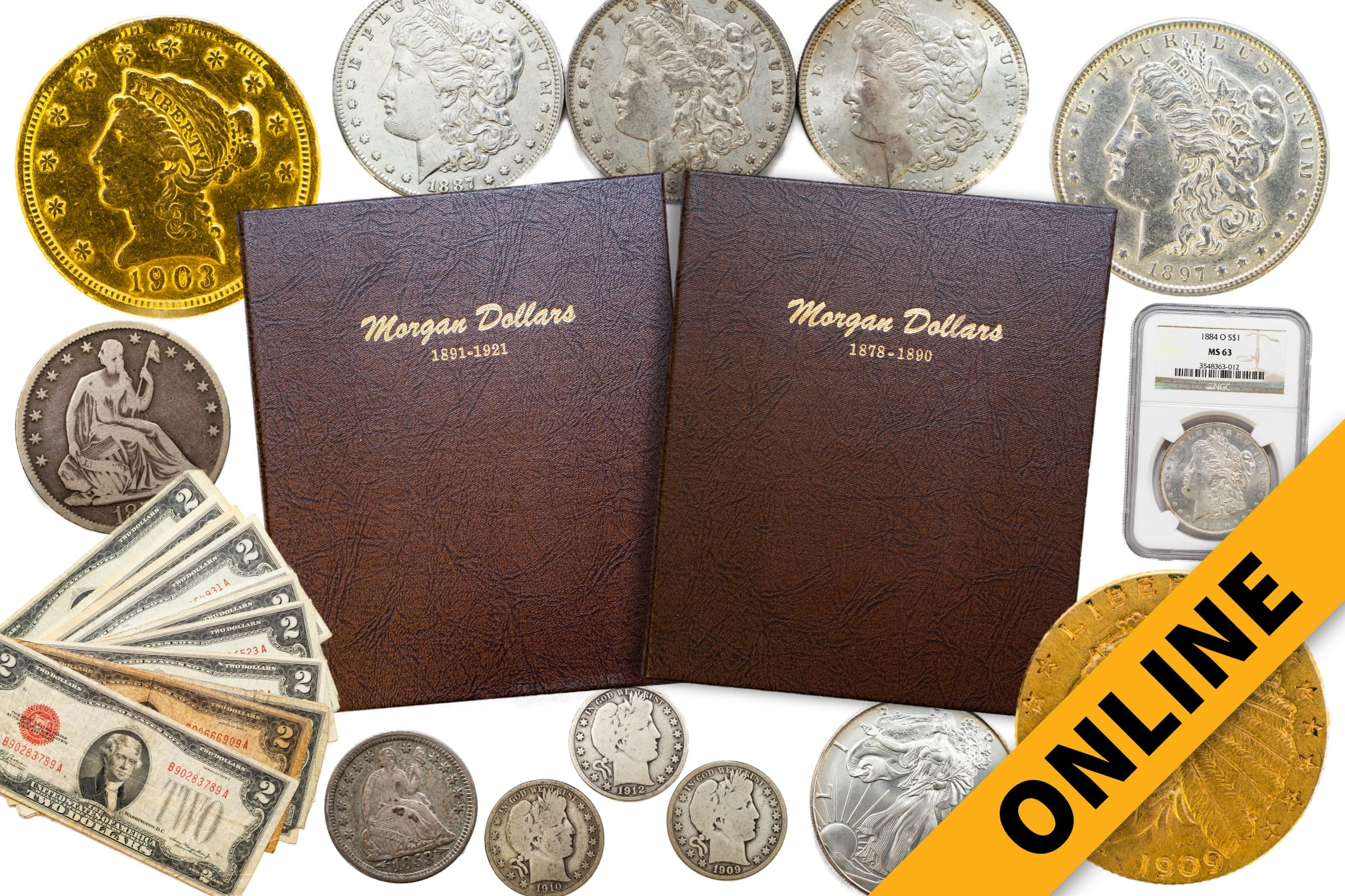 Lifetime Coin Collection Online Auction