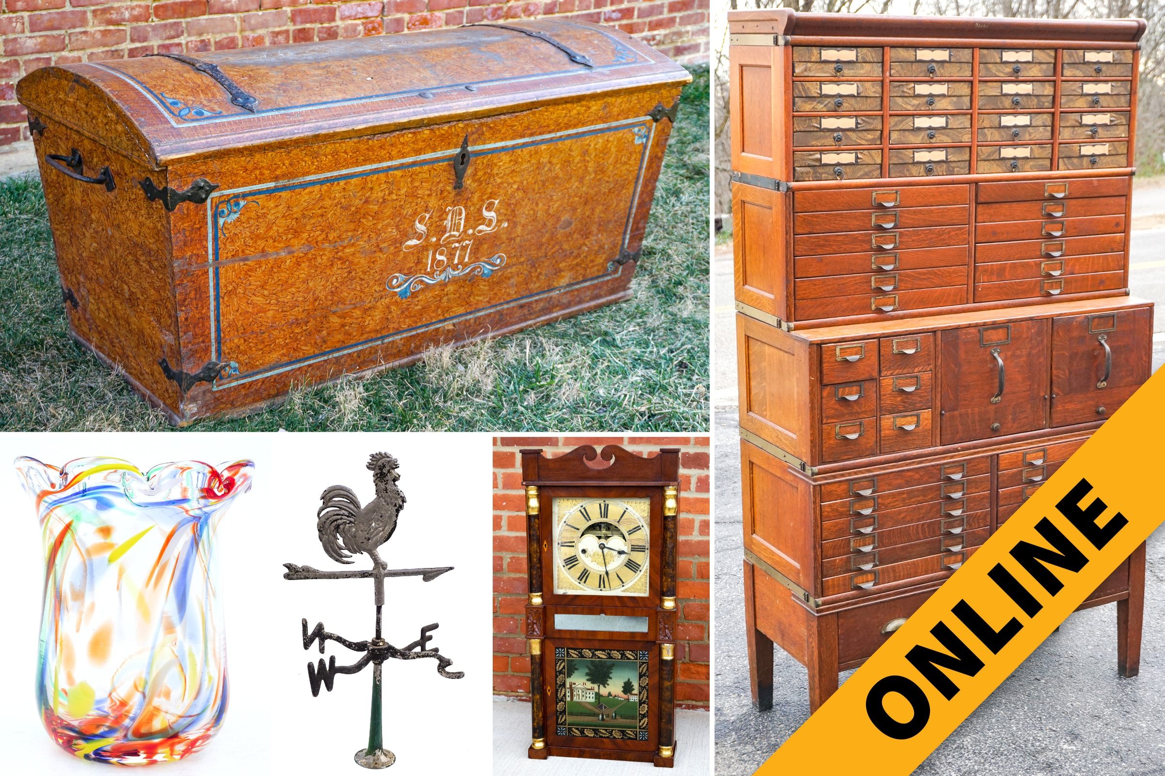 Furniture, Art & Decor Online Auction