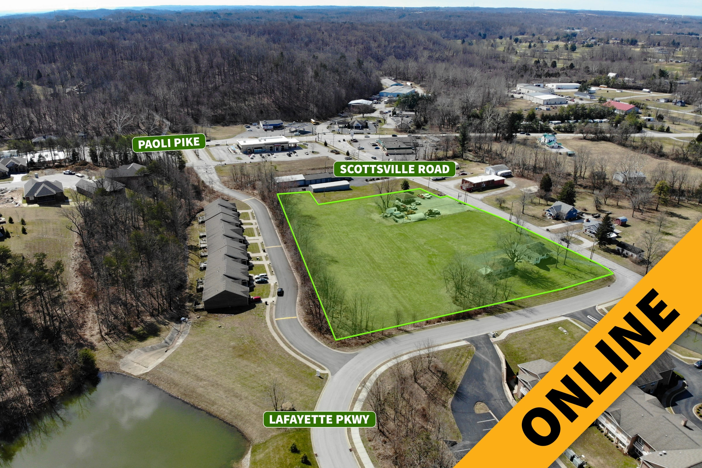 Prime 4-Acre Floyds Knobs Online Auction