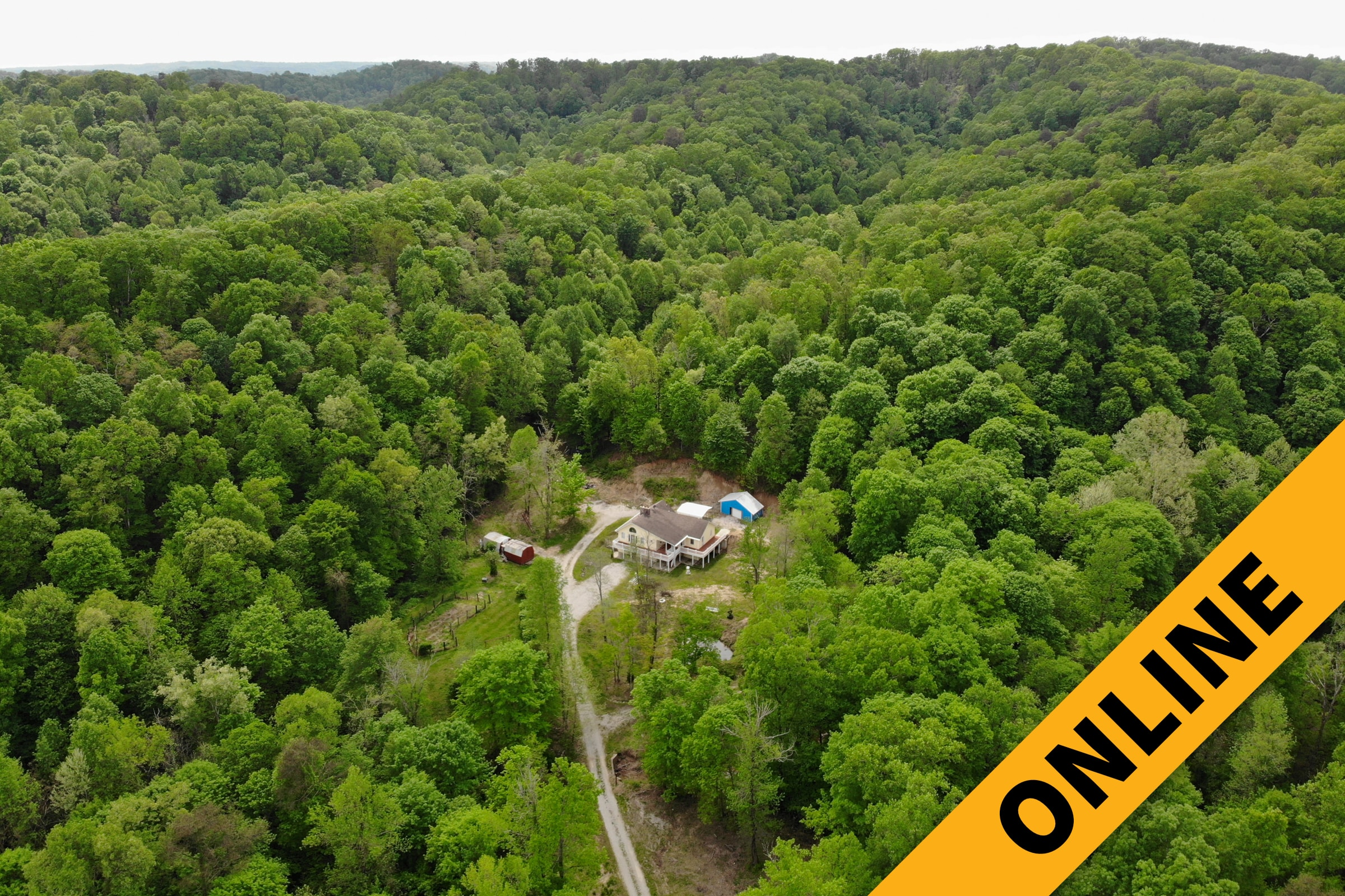 88 Acres & Home Online Auction