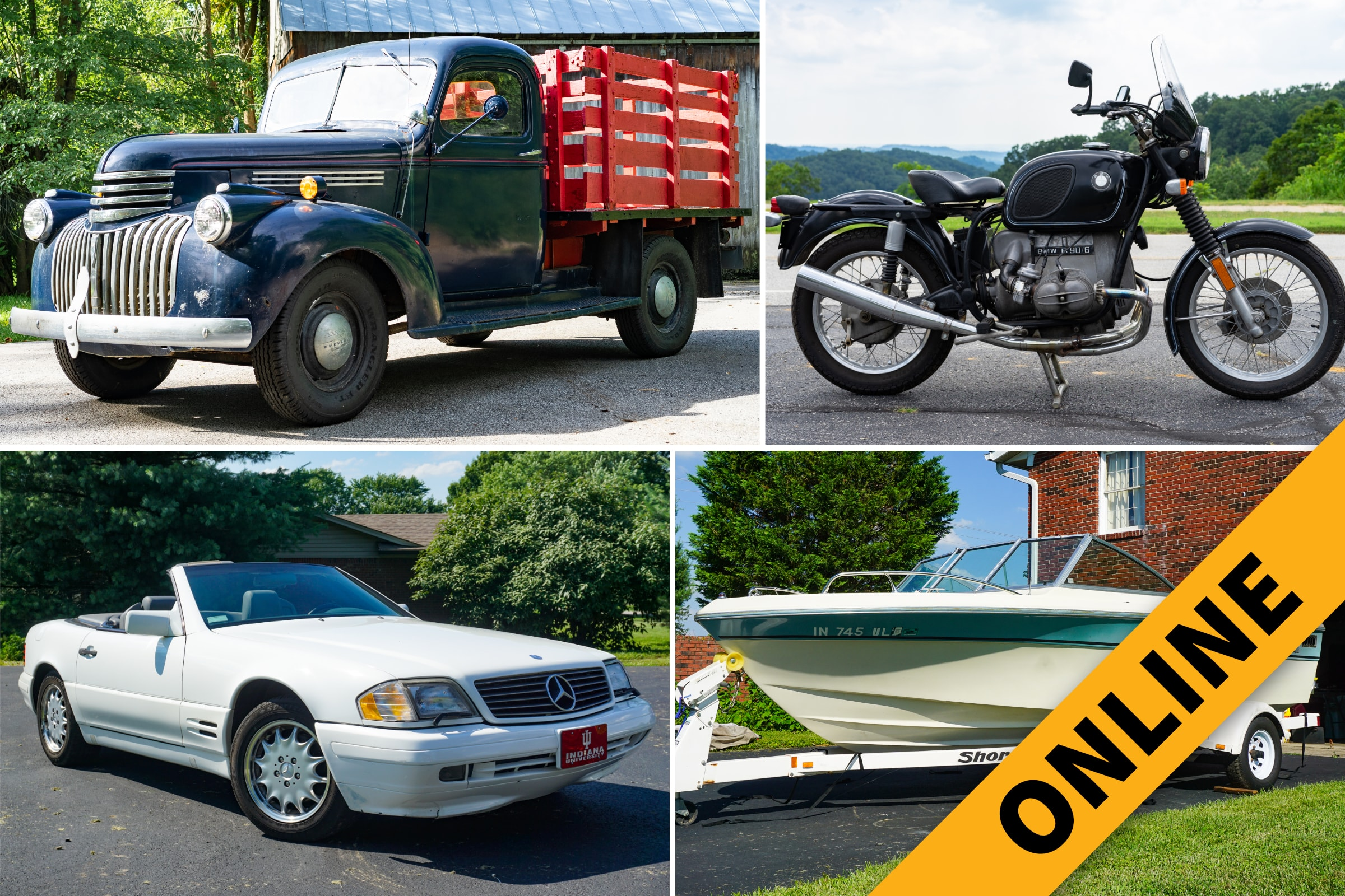 Online Vehicle & Tractor Auction
