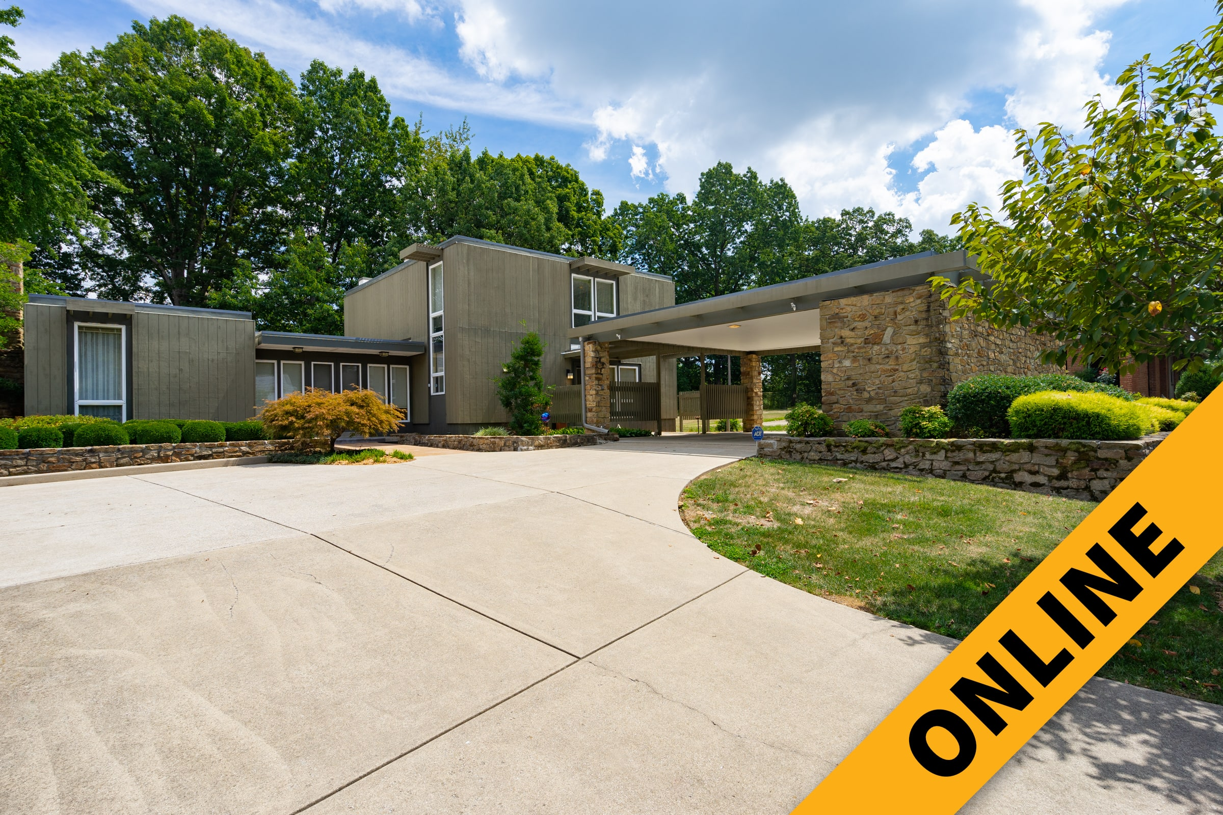 Mid-Century Modern Home Online Auction