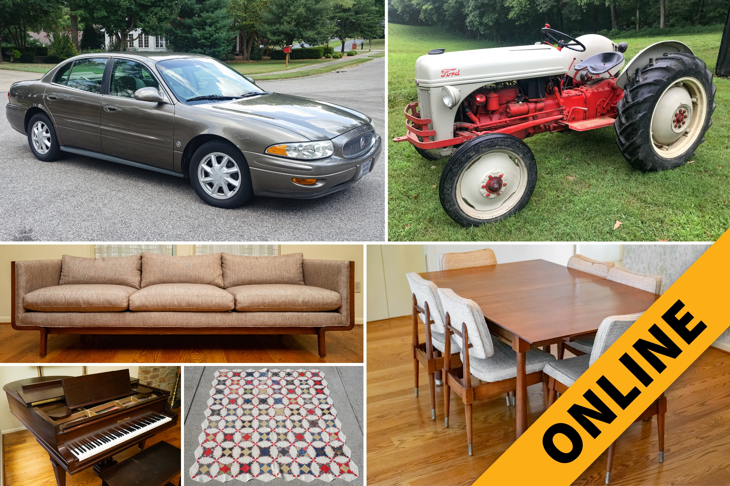 Mid-Century Furniture & Contents Online Auction