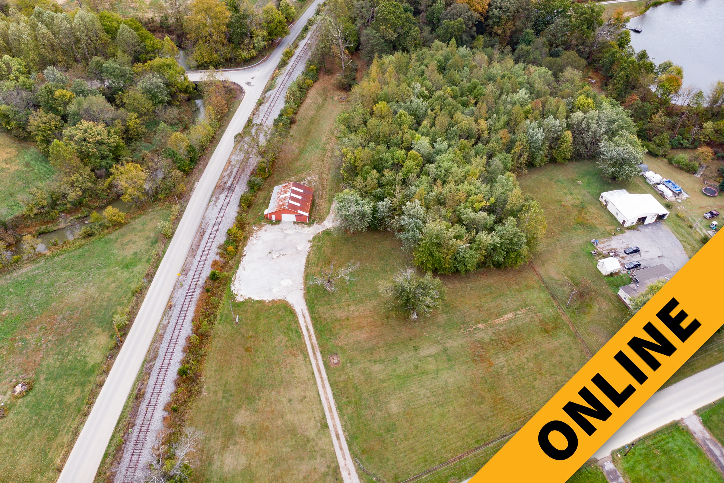 Clark County Land & Barn Online Auction