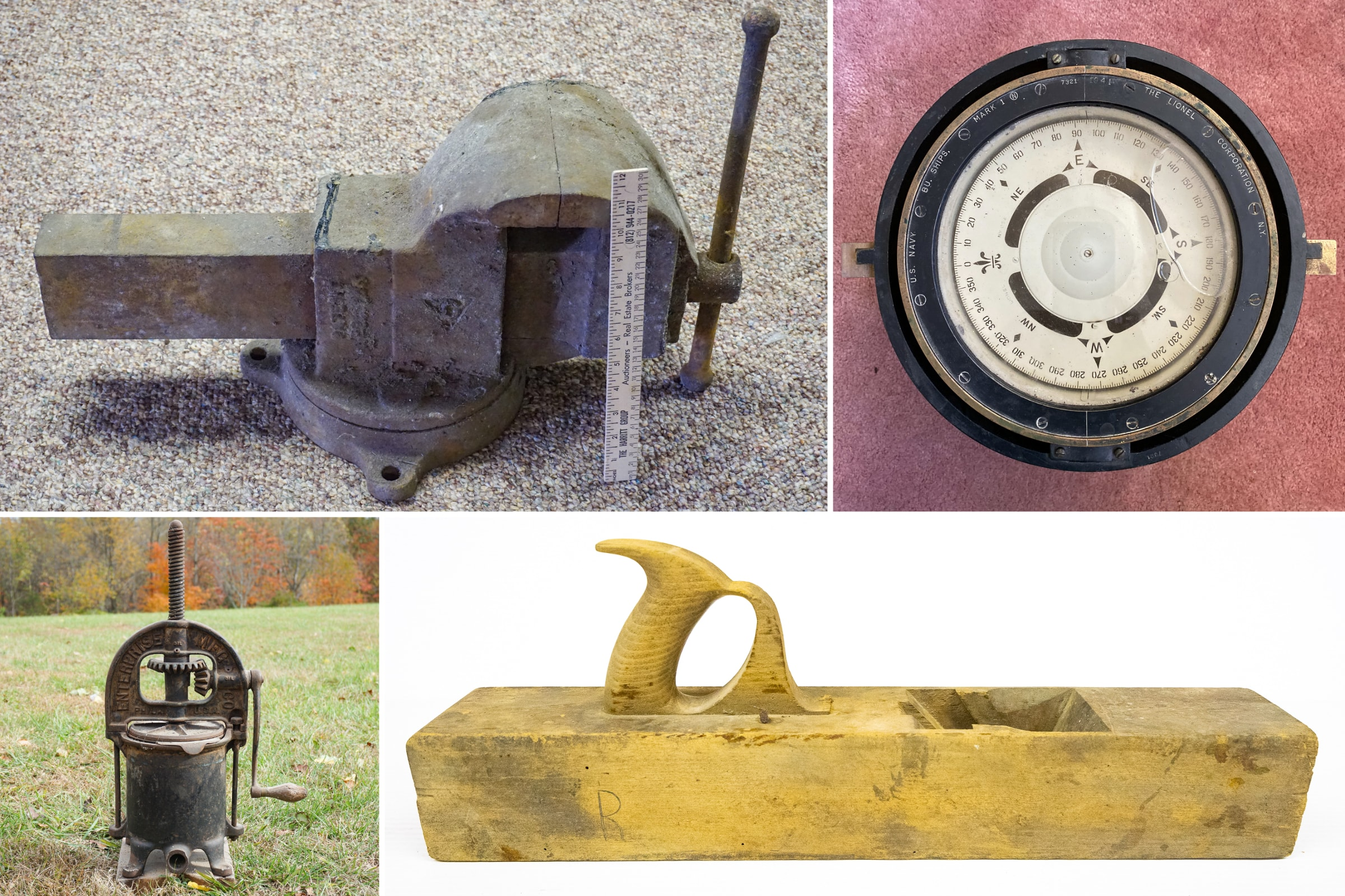 Fosskuhl Antique Tools & Contents Auction