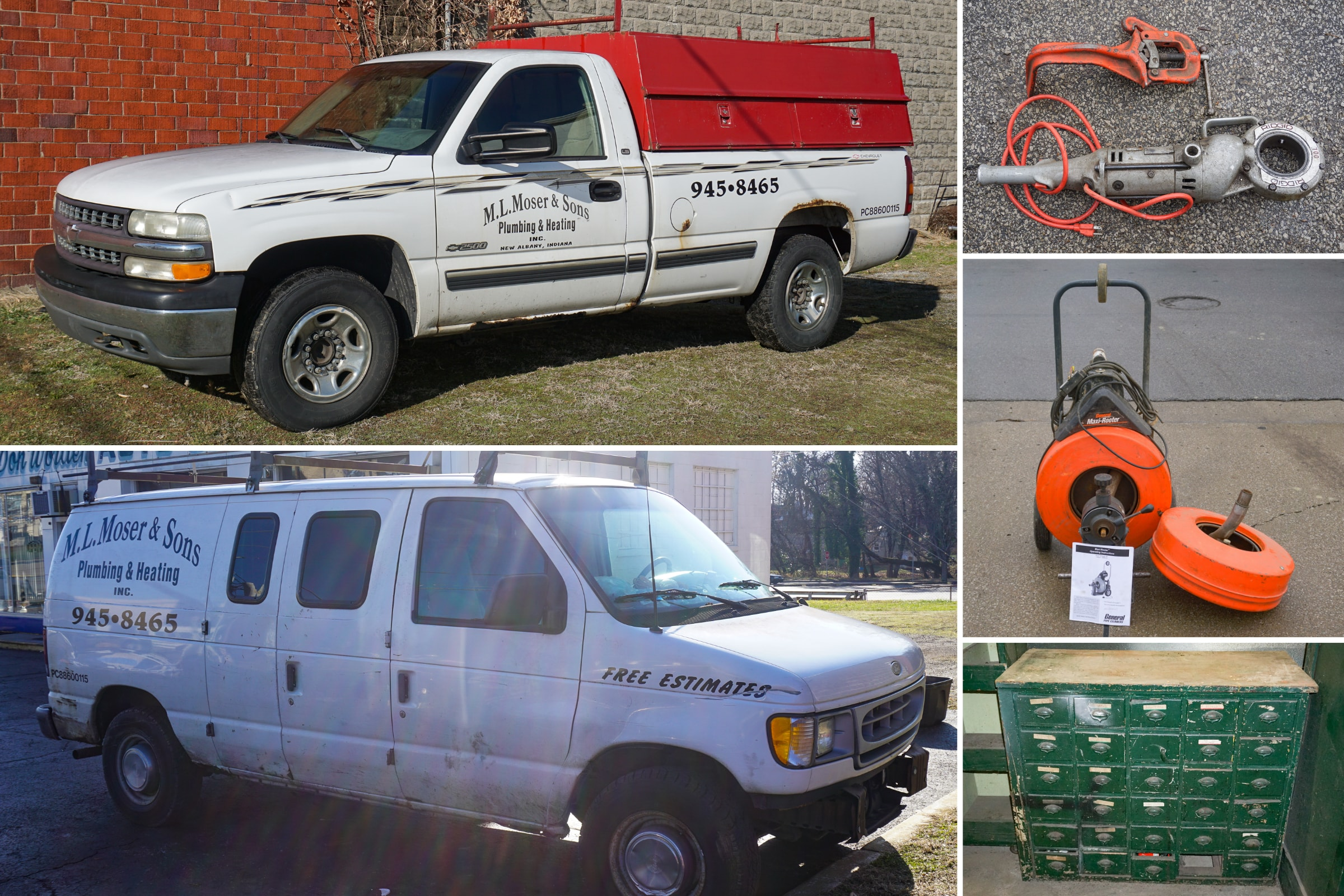 ML Moser & Sons Plumbing Retirement Auction