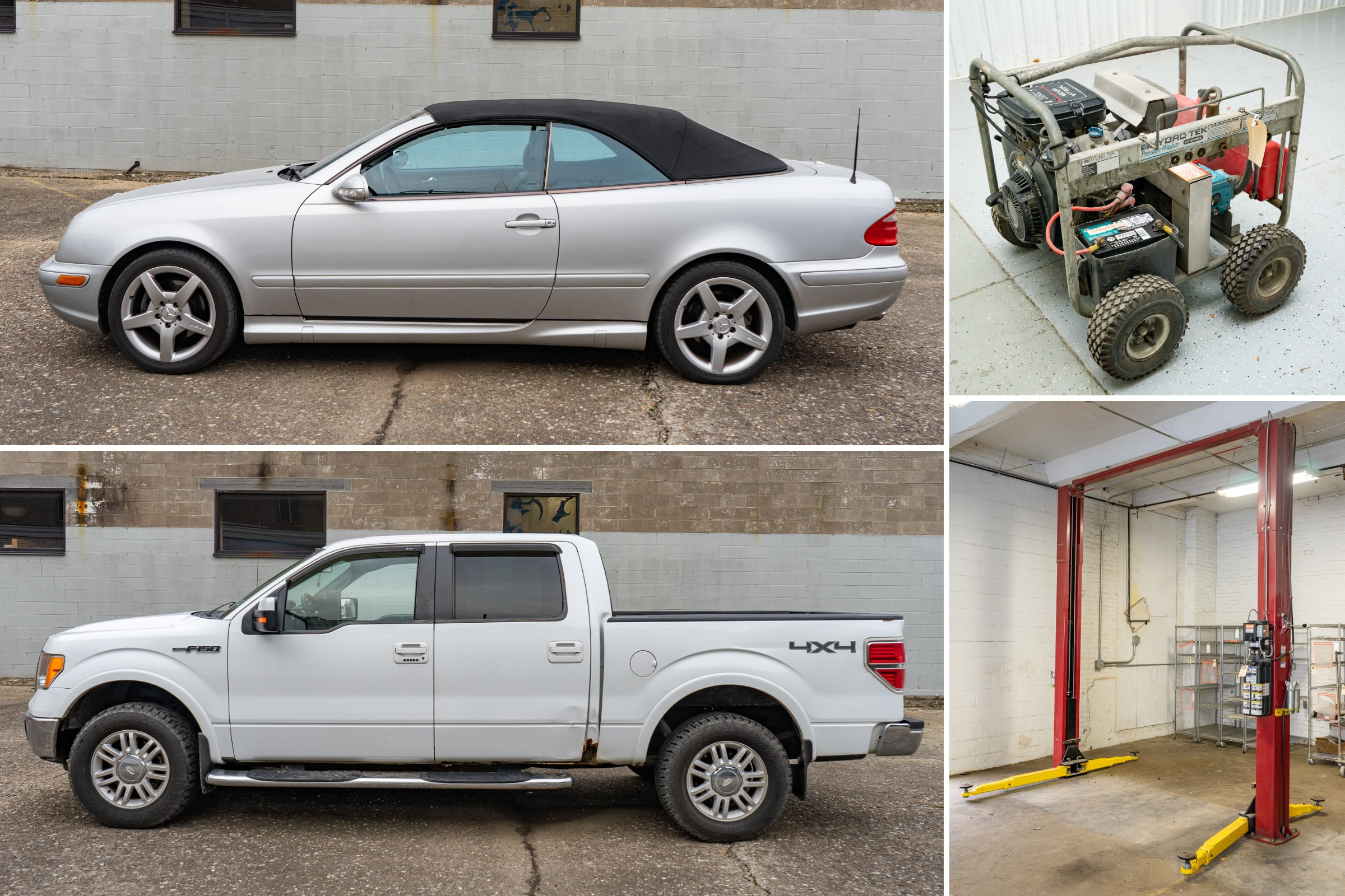 Body Shop Equipment & Vehicle Auction