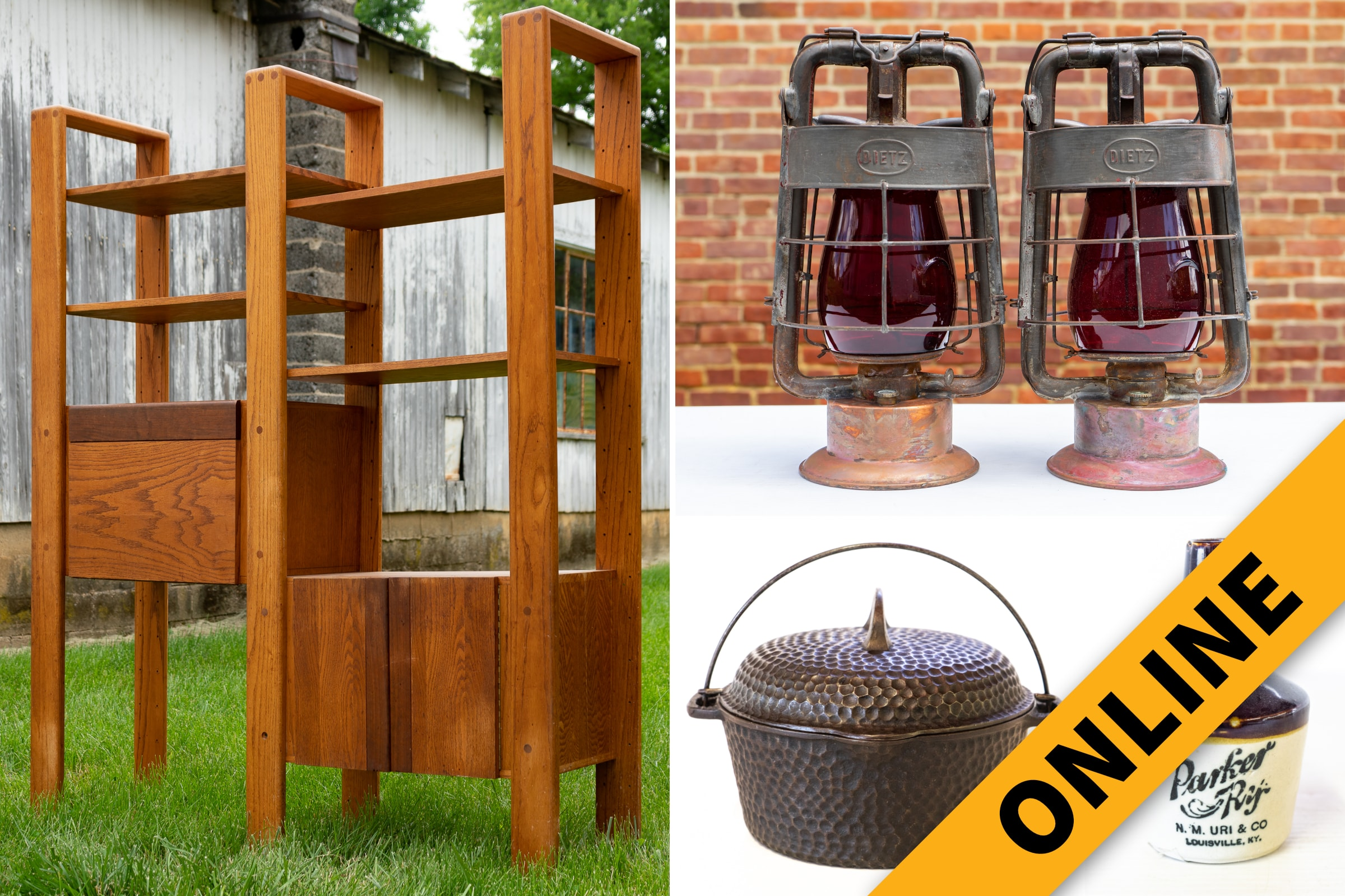 Mid-Century, Antique & Collectible Online Auction