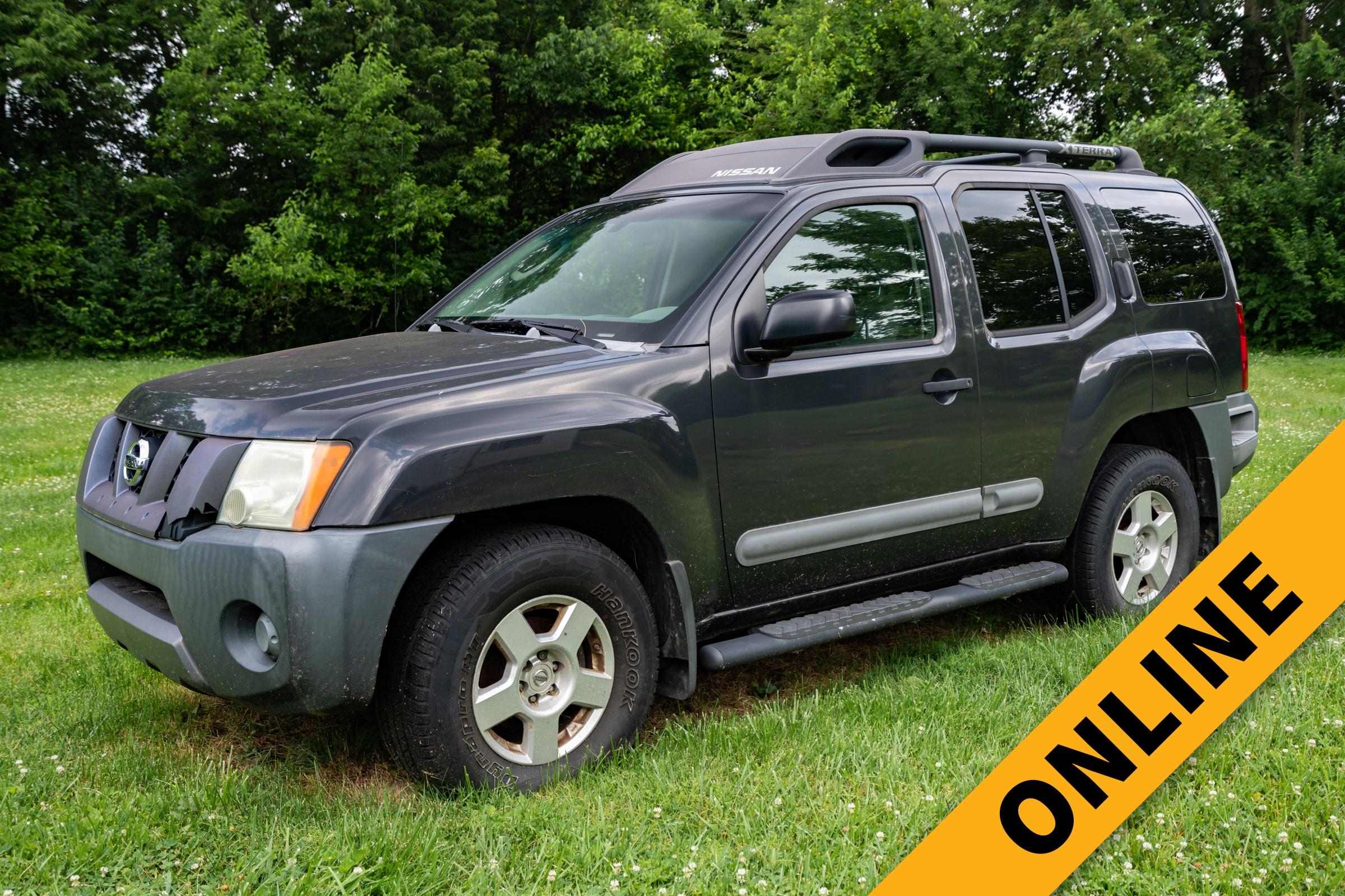 Nissan Xterra Online Auction