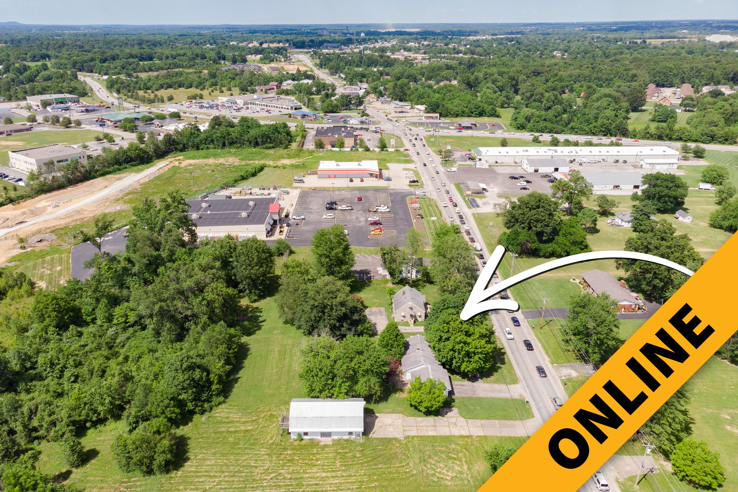 2 Acres 2 Homes Commercial Online Auction