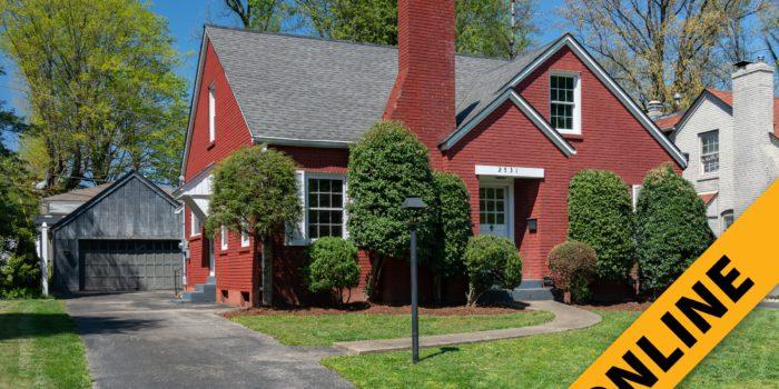 Glenwood Cottage Online Auction