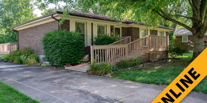 Fern Creek Home Online Auction
