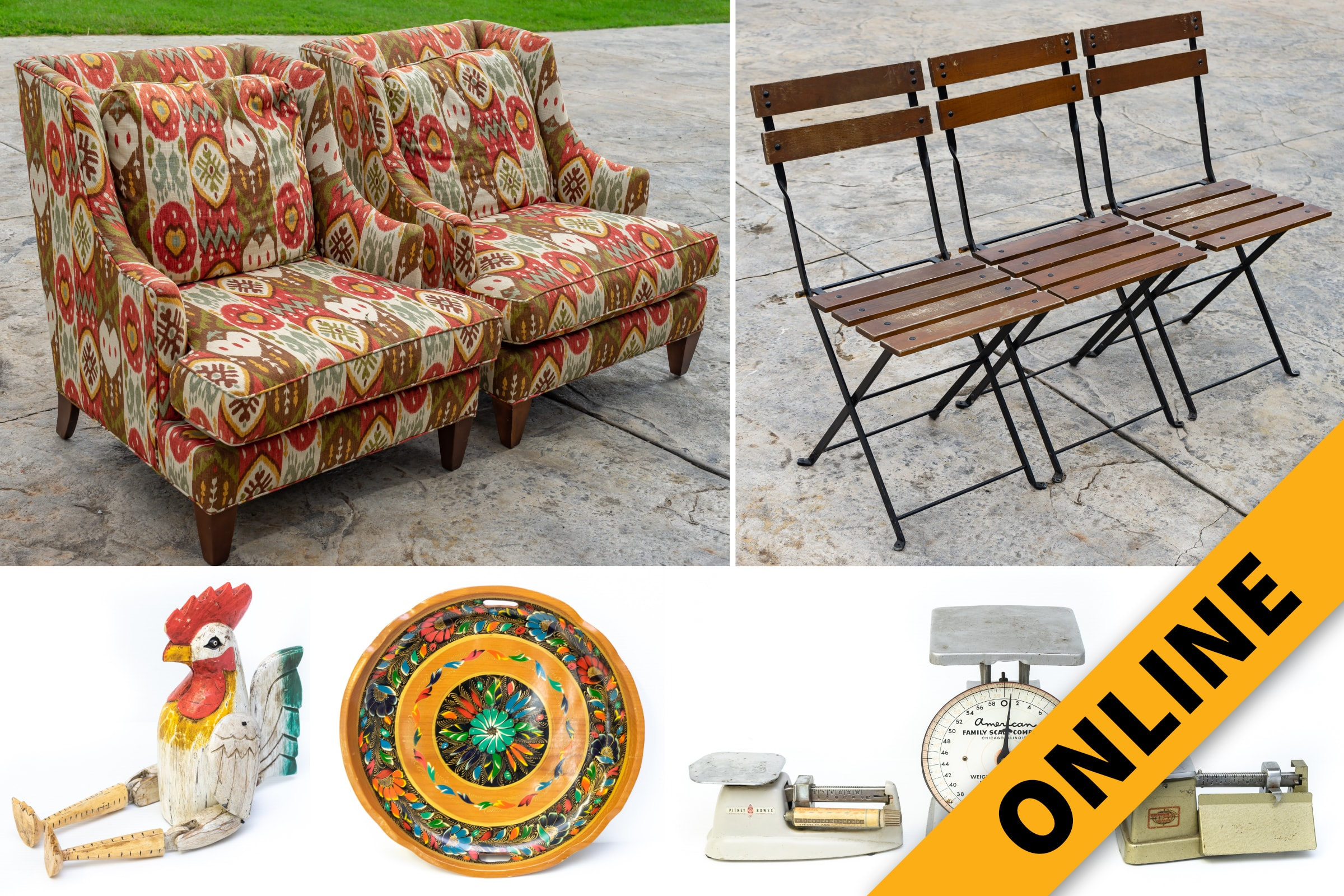 Home Furnishings Online Auction