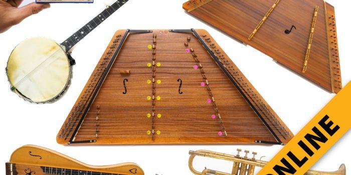 Vintage Musical Instrument Online Auction