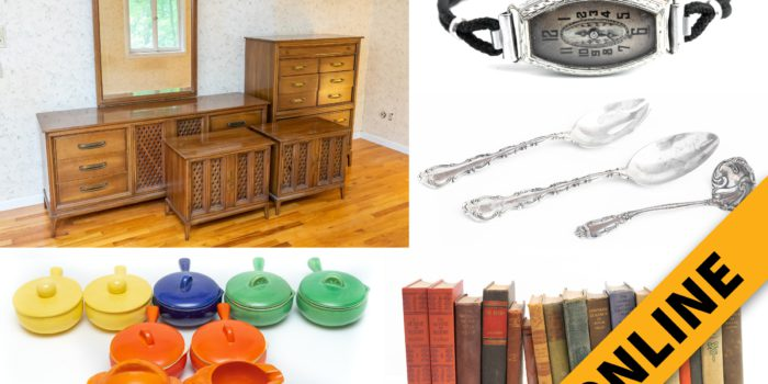 Home Furnishings & Collectibles Online Auction
