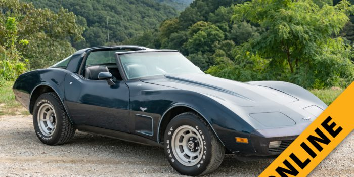 Vintage Corvette Online Auction