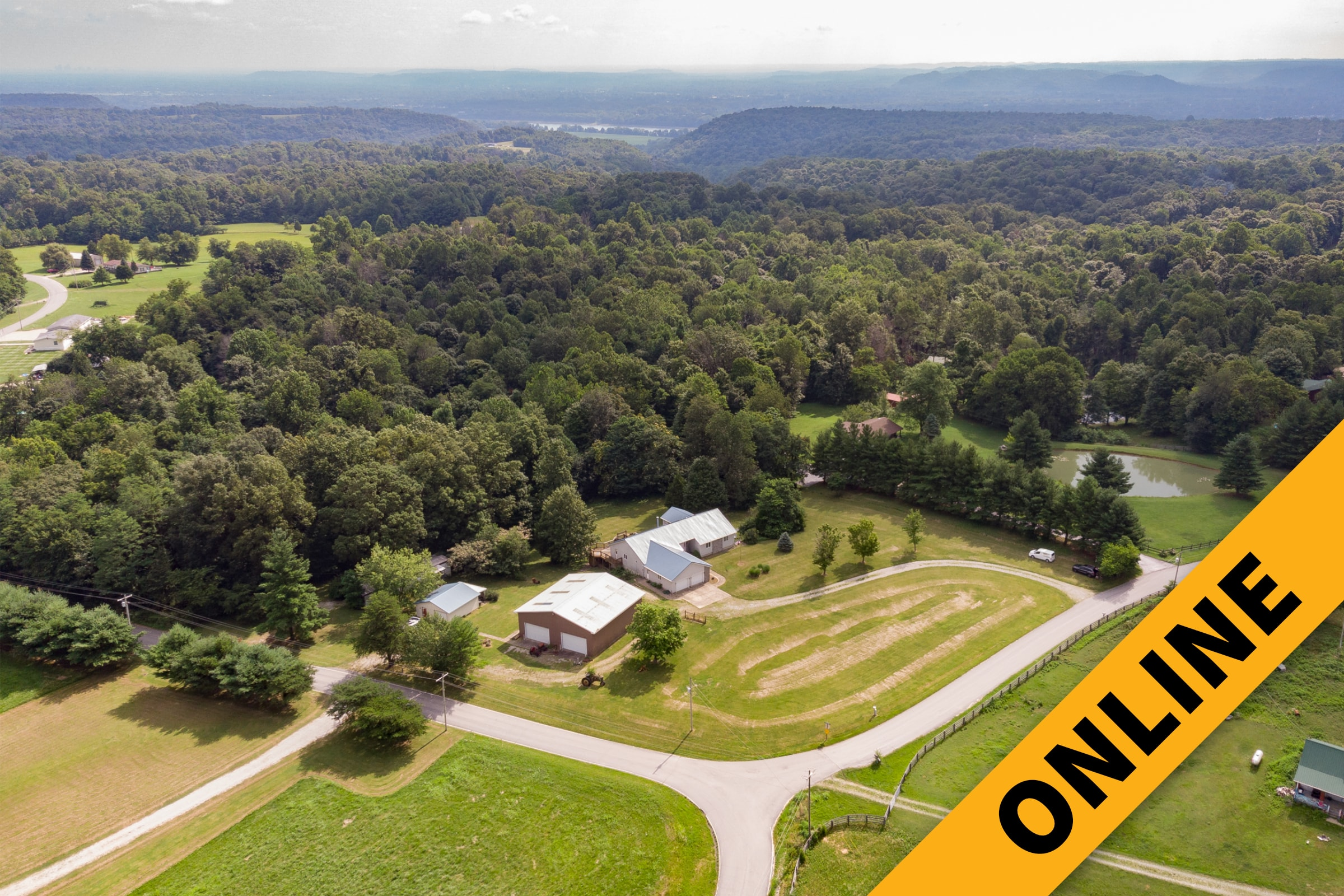 Harrison County 5-Acre Estate Online Auction