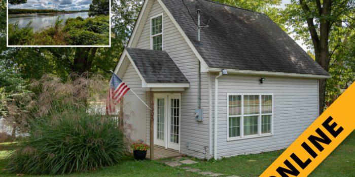 Riverfront Cottage Online Auction