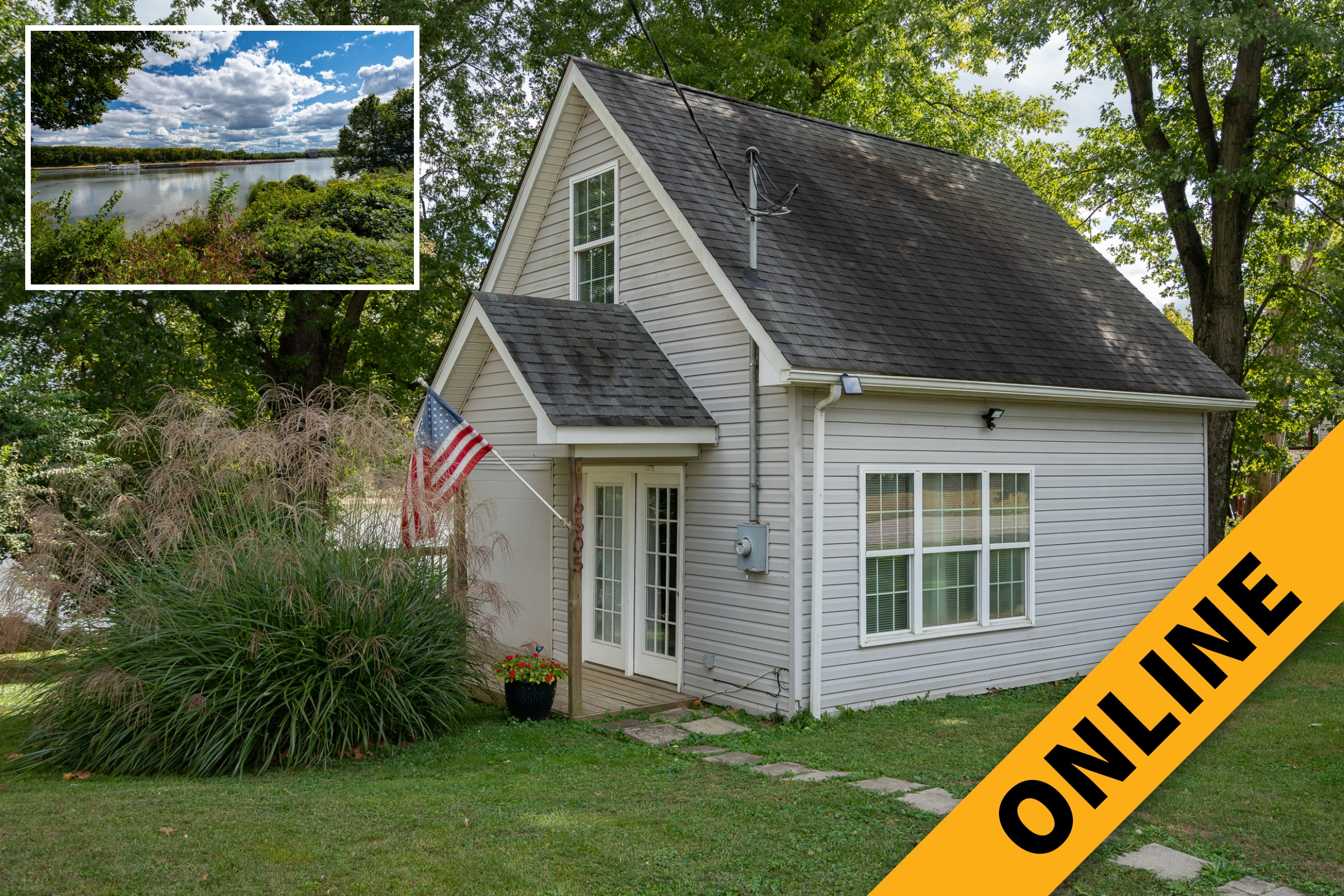 Riverfront Cottage Online Auction