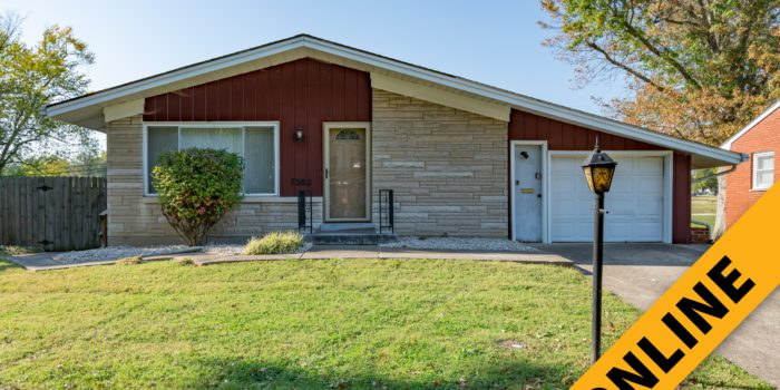 Mid-Century Modern Ranch Online Auction