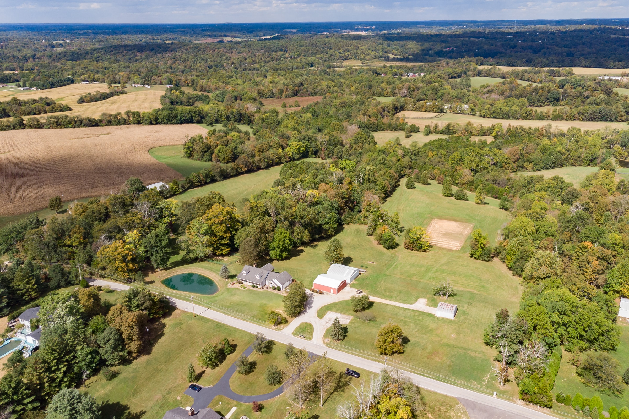 Floyd County 36 Acre Home & Barns Multi-Par Auction