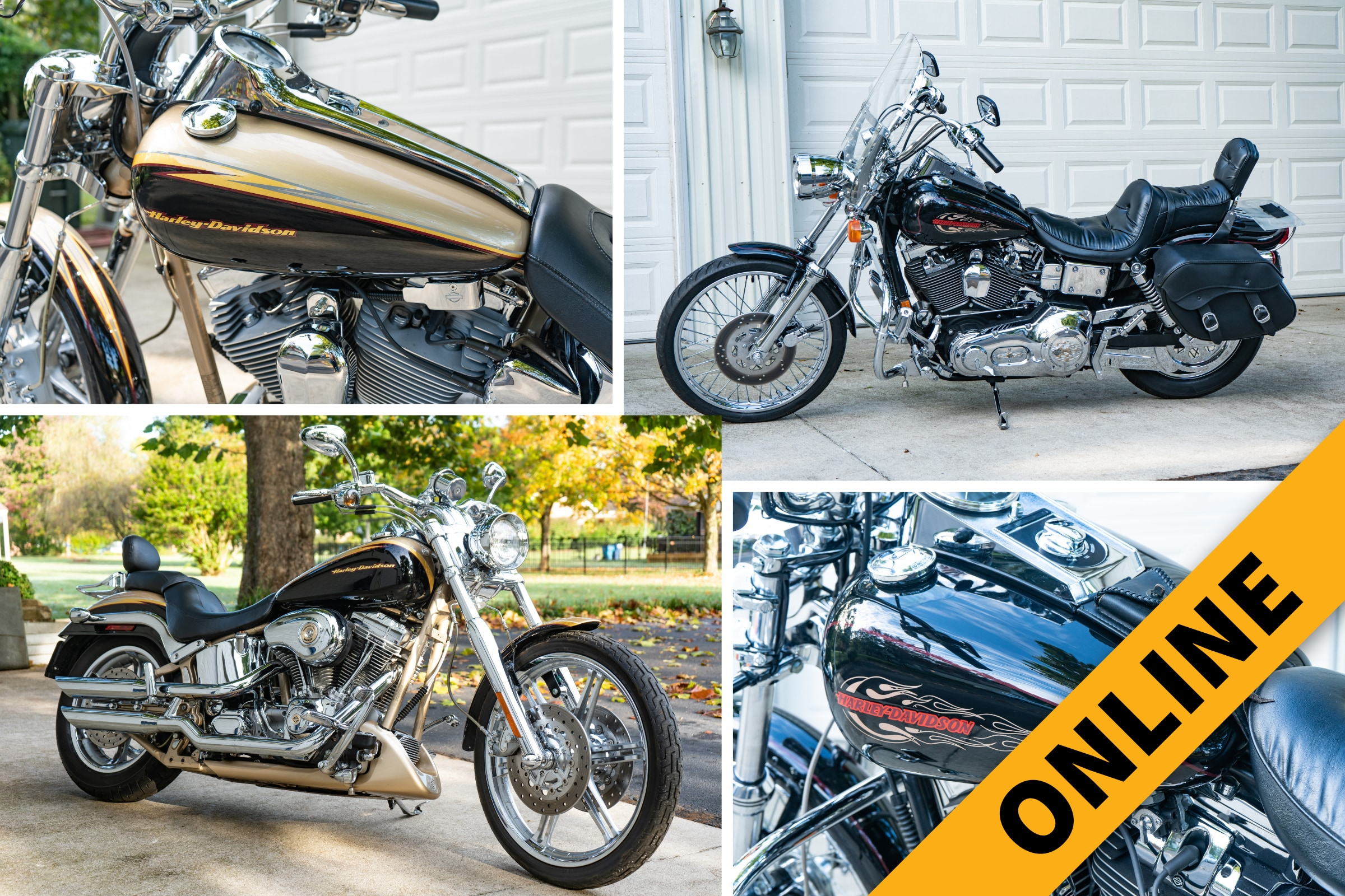 Harley-Davidson Online Auction