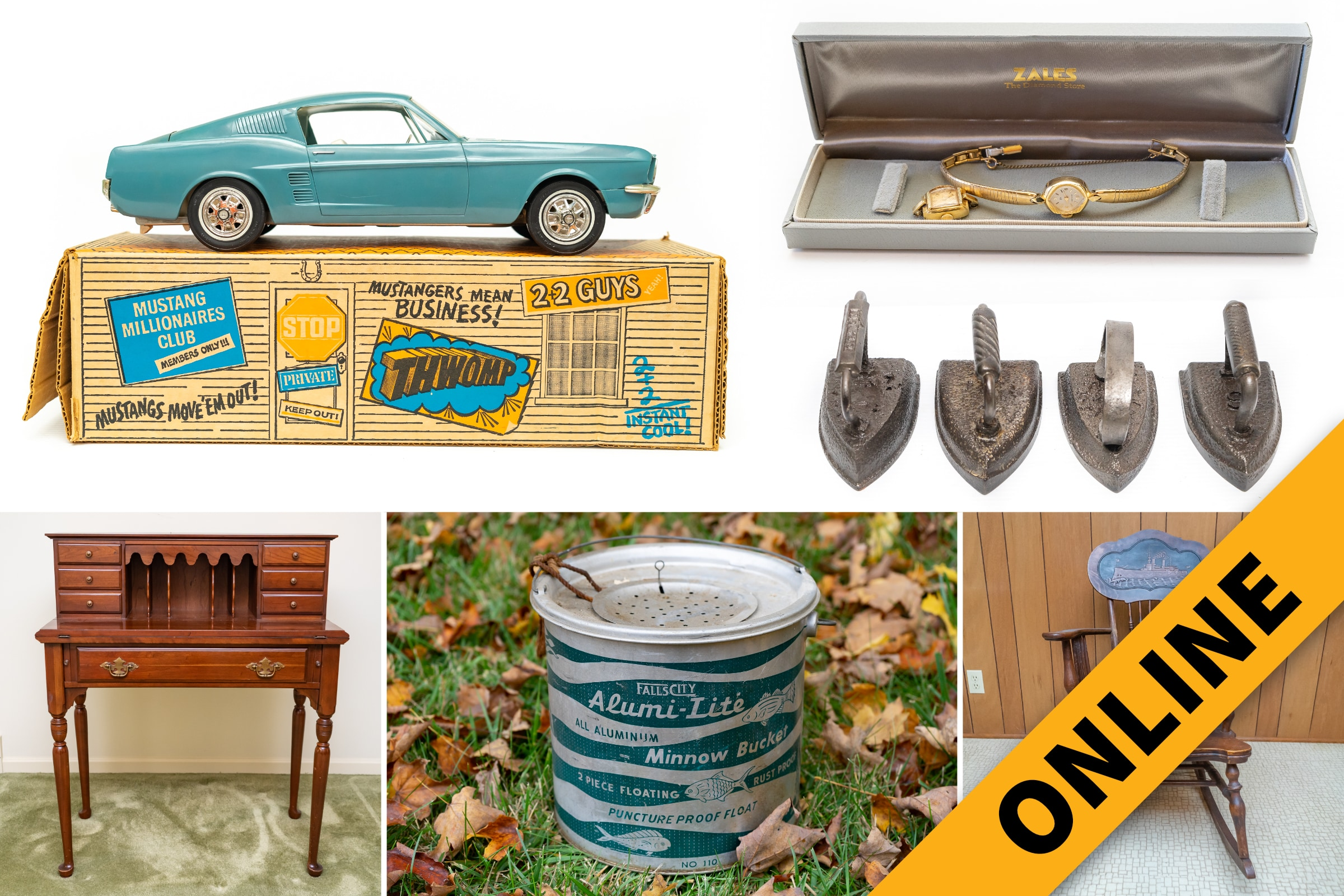 Jones Lifetime Collection Online Auction
